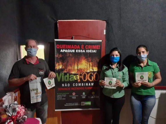 Combinação Covid-19 e queimadas é nociva à saúde, adverte Secretaria Estadual de Desenvolvimento Ambiental