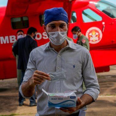 Testes rápidos e bombas de infusão para UTI adquiridos pelo governo chegam a Rondônia