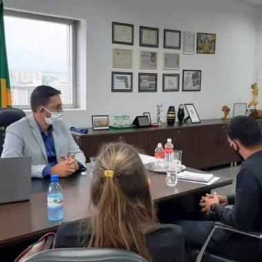 Deputado Anderson tem reunião com secretário da SEJUS discute regulamentação da Polícia Penal e outros assuntos pertinentes a categoria
