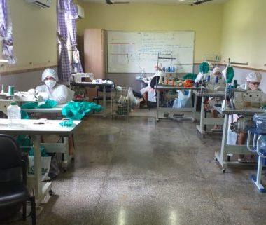 Reeducandos em Rondônia produzem máscaras para combate e prevenção do coronavírus