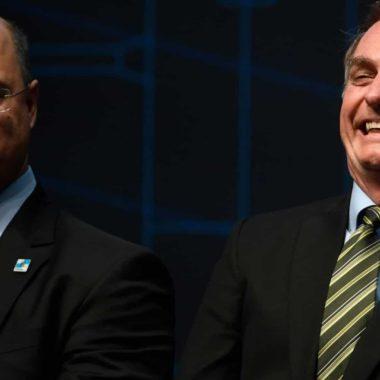 'Parabéns à PF' diz Bolsonaro sobre operação em residência de Witzel