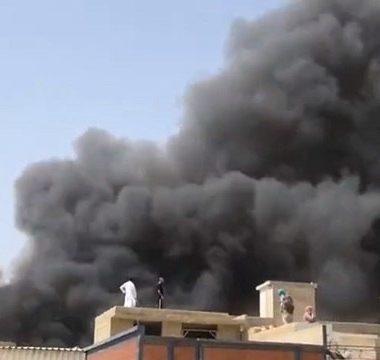 Urgente: Avião com 107 pessoas cai em área residencial