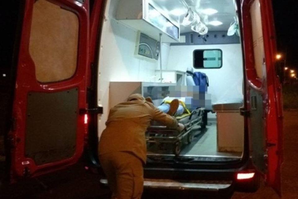 Homem atropela e arrastar ex-mulher pela rua em Vilhena