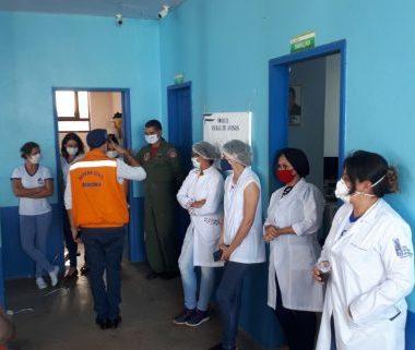 Força-tarefa em São Miguel do Guaporé reforça vigilância e melhora fluxo de atendimento no combate à Covid-19