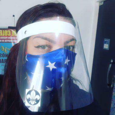 Empreendedora de Porto Velho faz máscaras conforme orientações da OMS