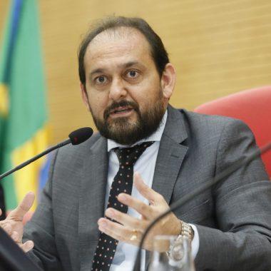 Presidente Laerte Gomes se reúne com governador do estado para tratar de reajuste salarial na segurança pública