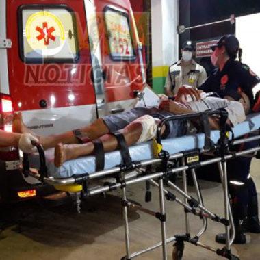 Motociclista é baleado após ter moto roubada na zona sul de Porto Velho
