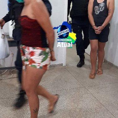 Mãe e filho são presos por tráfico, em Ji-Paraná