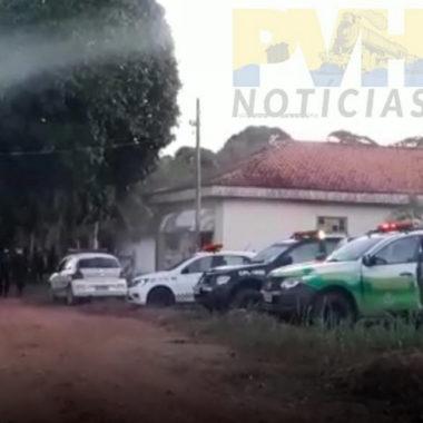 PM acaba com festa em chácara com 30 pessoas em Porto Velho