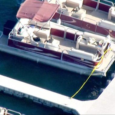 Atriz desaparece após passeio de barco com filho de 4 anos