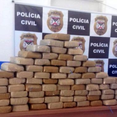 Operação conjunta apreende 80 kg de cocaína em Alto Alegre dos Parecis