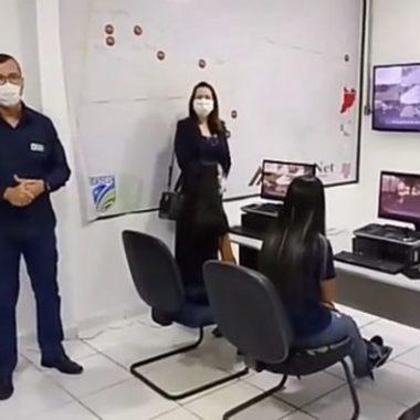 Câmeras de videomonitoramento são reinstaladas no município de Machadinho D'Oeste
