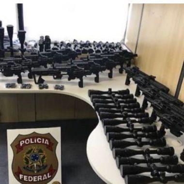 Polícia Federal deflagra operação contra tráfico internacional de armas