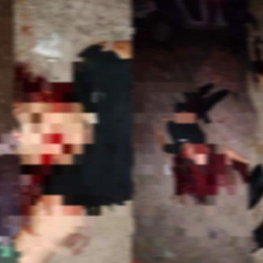 Mulher é executada com vários tiros na cabeça; imagens fortíssimas