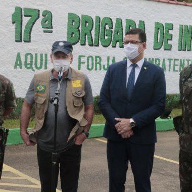 Ministro da Defesa destaca integração dos órgãos estaduais e federais em Rondônia