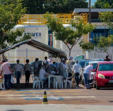 Drive-Thru: Estado realiza testagem rápida para Covid-19 neste sábado (4), em Porto Velho