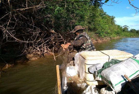 Operação Iara combate à pesca predatória em Rondônia
