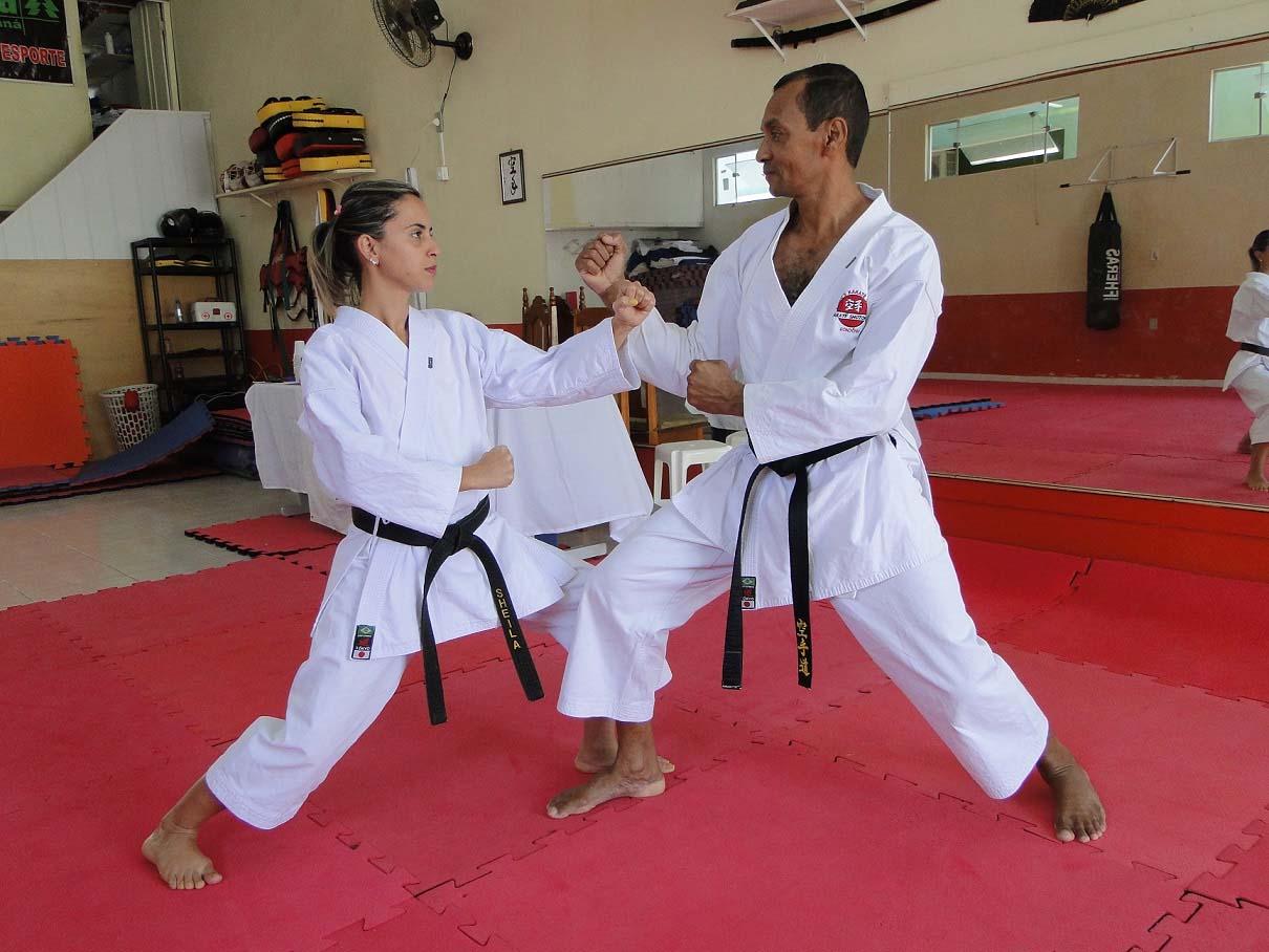 Rondônia e destaque no nacional virtual de karate