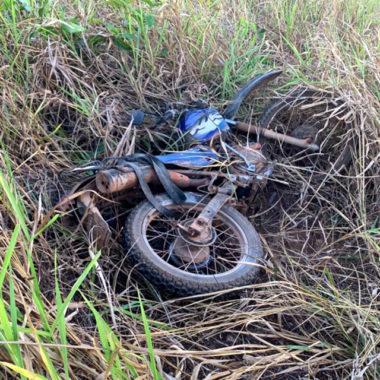 Motociclista morre em grave acidente no Km 140 da BR-429