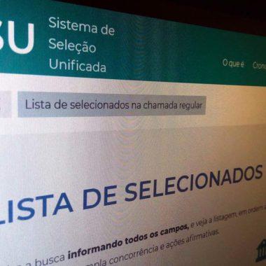 MEC divulga hoje resultado do Sisu do segundo semestre deste ano