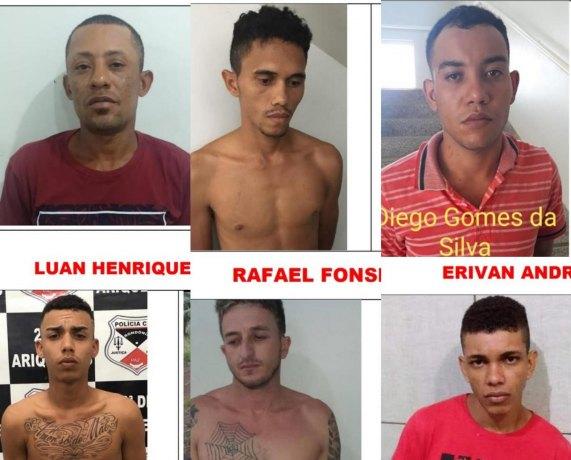 PERIGO – Polícia divulga imagens de apenados que fugiram de presídio de Rondônia