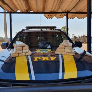 PRF encontra 16 kg de drogas em bagagem de passageira de ônibus em Porto Velho