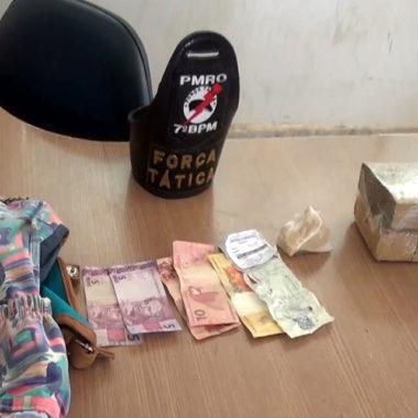PM prende mulher com 1.080kg de Maconha e 102g de Crack na rodoviária