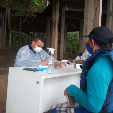 Unidade de Saúde Fluvial Walter Bártolo atua na segunda barreira sanitária entre os rios Mamoré e Pacaás Novos