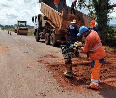 Governo de Rondônia recupera pontes nas rodovias 370, 499 e 497 e inicia operação tapa-buracos