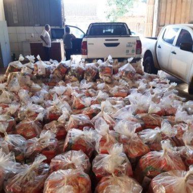 Estudantes de Guajará-Mirim e Nova Mamoré são atendidos com kits alimentação