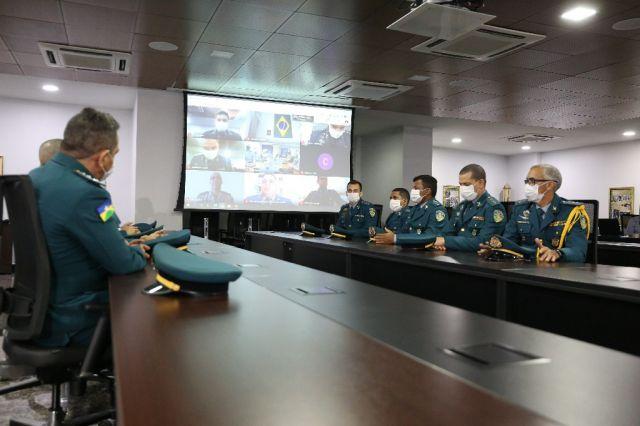 Oficiais da Polícia Militar de Rondônia iniciam Curso de Aperfeiçoamento