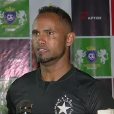 RECOMEÇO – Bruno volta ao futebol profissional nesta quarta pelo Rio Branco FC