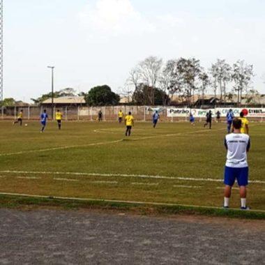 Amistoso entre Ji-Paraná e Vilhenense é interrompido na etapa final