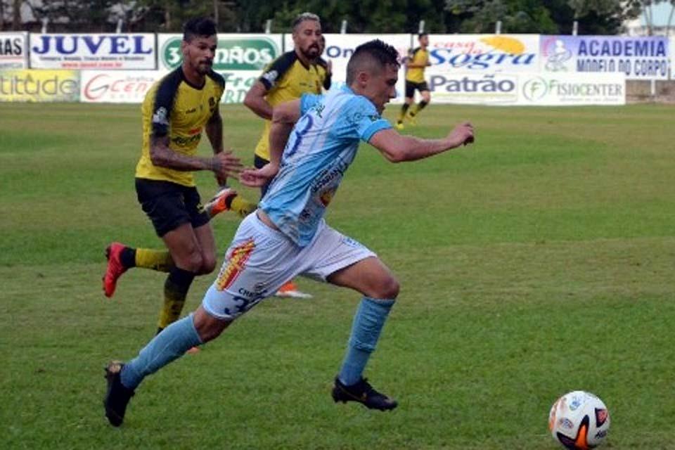 Ji-Paraná confirma chegada de três jogadores
