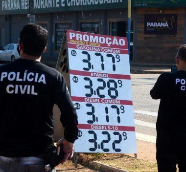 PENTE FINO – Polícia Civil e Procon fiscalização postos de combustíveis contra abusos