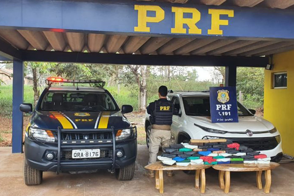 PRF apreende carga de cocaína avaliada em mais de R$ 2 milhões