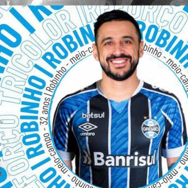 Grêmio acerta contratação de Robinho até o fim da temporada