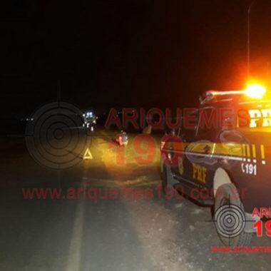 Homem tem cabeça arrancada após ser atropelado por ambulância na BR-421