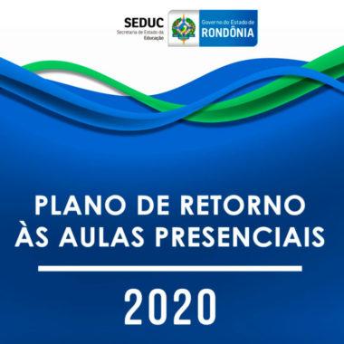Conheça o plano do Governo para o retorno das aulas presenciais em Rondônia