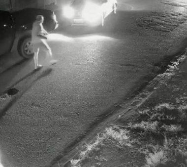 PM atira em motorista de caminhonete após ser atacado com golpe de facão