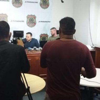 """COLETIVA – Delegado da PF que comandou prisões de prefeitos em RO diz que esquema de corrupção iria se alastrar se não fosse """"implodido"""""""