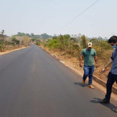 DER avança na recuperação da RO-490, entre a RO-383 e o município de Alto Alegre dos Parecis