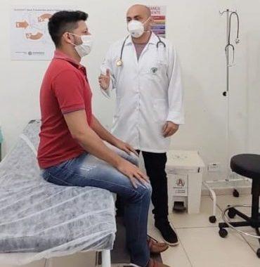 Servidores do Hospital Cemetron recebem atendimento especializado durante pandemia em Porto Velho