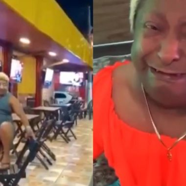 REVOLTANTE – Patixa Teló tem bolsa arremessada em telhado e é humilhada em vídeo; VEJA