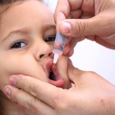 Campanha de Vacinação Contra Pólio inicia nesta terça-feira, 6, em Porto Velho