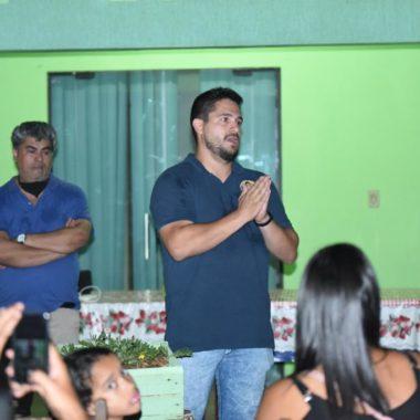 Candidato a vereador Alisson Sandubas cumpre agenda na Ponta do Abunã