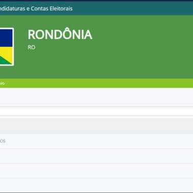 ELEIÇÕES 2020 – Julgados 99,56% dos registros de candidaturas em Rondônia