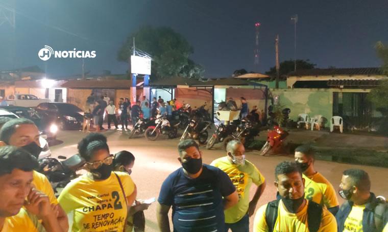 CASO DE POLÍCIA – Vigilantes registram ocorrência de fraude nas eleições do Sintesv