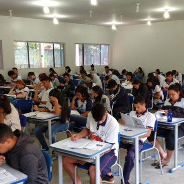 Estudantes do terceiro ano da Rede Estadual de Rondônia participam do 2° simulado para o Enem 2020