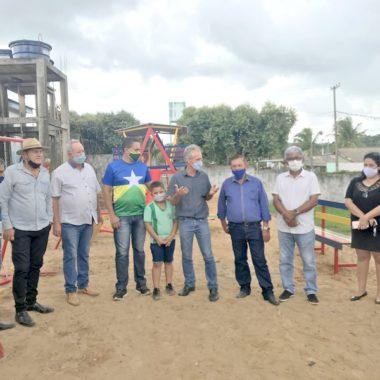CACAULÂNDIA: Sargento Eyder Brasil fiscaliza emendas destinadas ao município